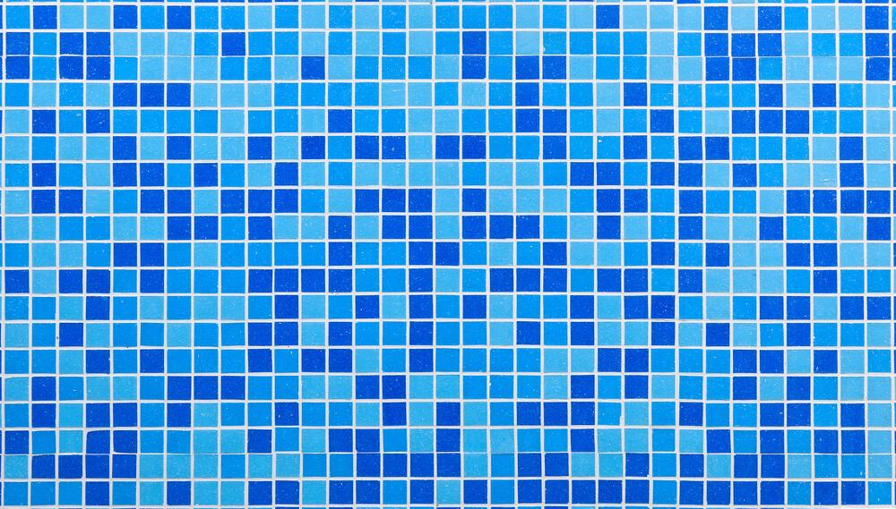 Tile light blue